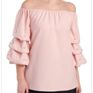 💖💖NWT S. LEVINE Top Lush Dusty Pink Color 💖💖